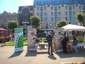 Local consultation at the NGO's fair