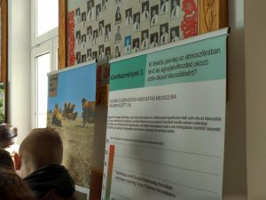 Exhibition about climate change
